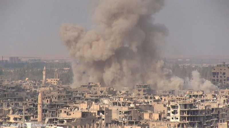 غارات للتحالف الدولي تقتل عشرات المدنيين بدير الزور