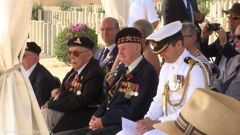 جنود الحرب العالمية الثانية يحتفلون بذكراها الـ76 في مصر