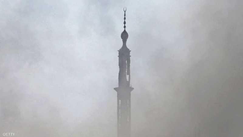 التحالف الدولي يقصف مسجدين استخدمهما داعش كقواعد عسكرية 1-1193307.JPG