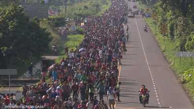 ارتفاع أعداد المهاجرين للولايات المتحدة إلى 7000