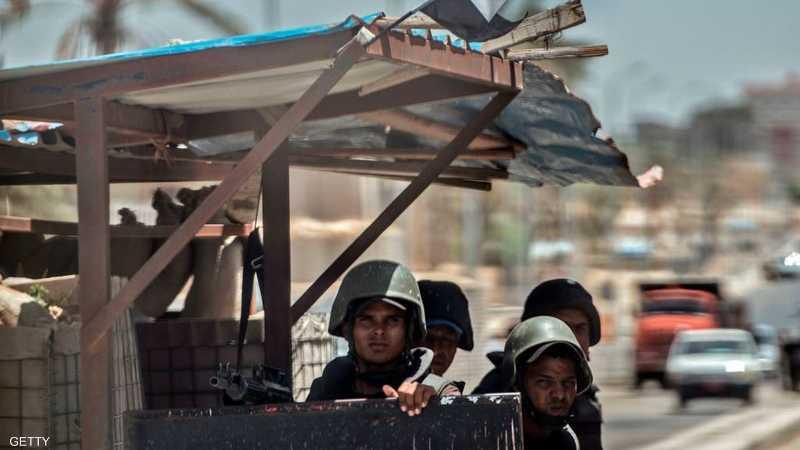 """الشرطة المصرية تداهم """"مغارة"""" إرهابيين وتقتل عددا منهم 1-1193774.jpg"""