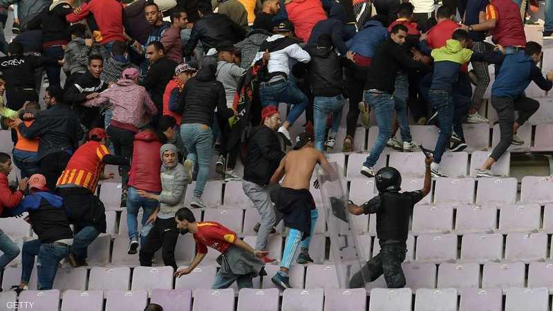 عشرات الإصابات إثر أعمال عنف في مباراة بتونس 1-1193859.jpg