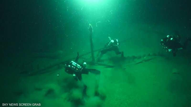 العثور على أقدم سفينة غارقة في البحر الأسود
