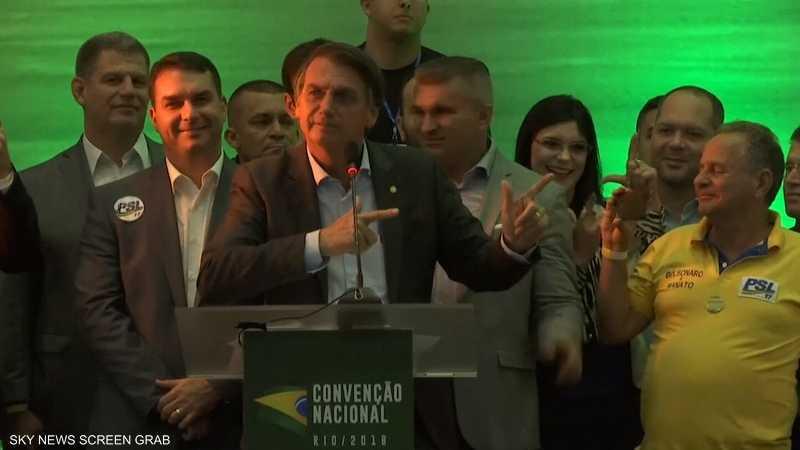 البرازيل.. فوز اليميني جايير بولسونارو بالانتخابات
