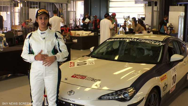 ريما الجفالي.. سائقة سعودية تحقق إنجازا تاريخيا