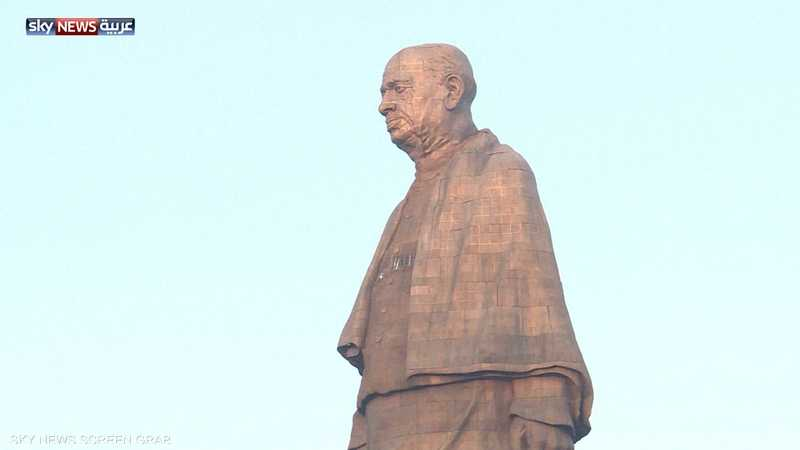 رئيس وزراء الهند يدشن أضخم تمثال في العالم