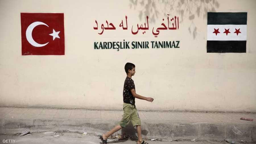 الوجود التركي في سوريا يتسع.
