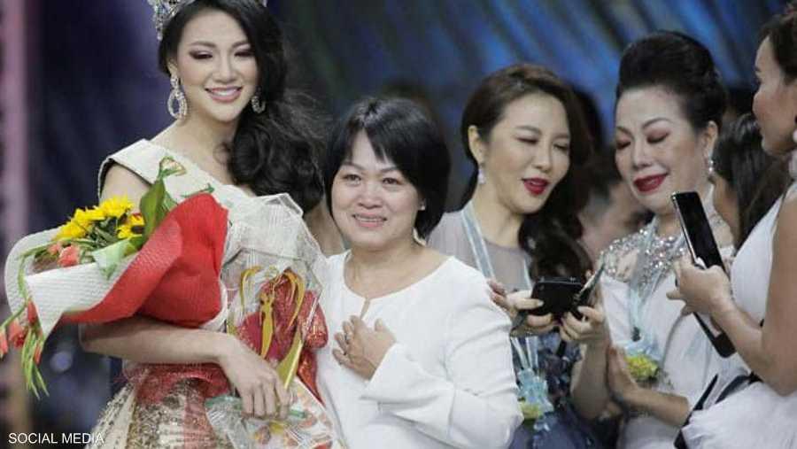 تعد فونغ أول فيتنامية تفوز بلقب ملكة جمال الأرض