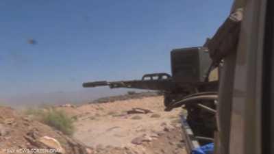 قوات الشرعية صدت هجومين للحوثيين في دمت