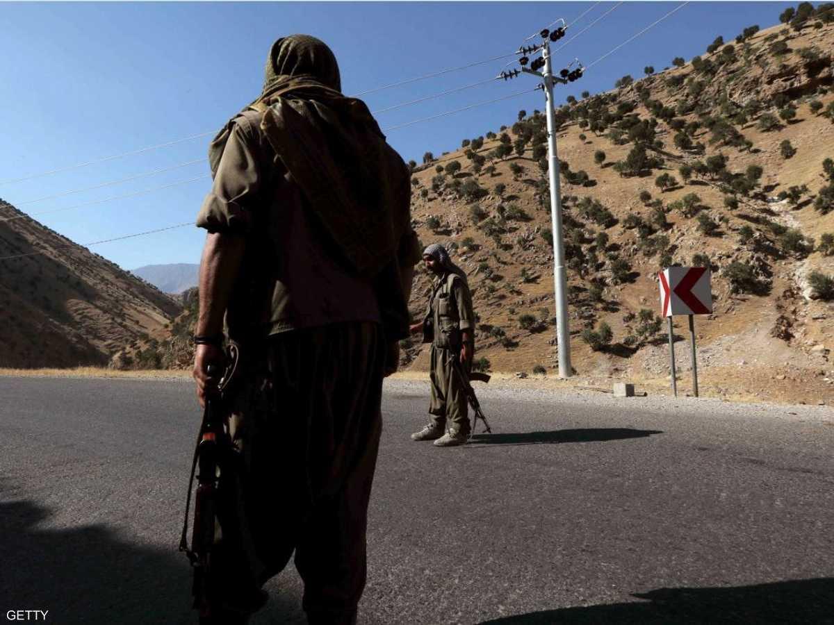 عناصر حزب العمال تتمركز في جبال قنديل شمالي العراق