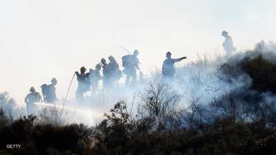 حرائق كاليفورنيا تشرد أكثر من ربع مليون شخص من منازلهم