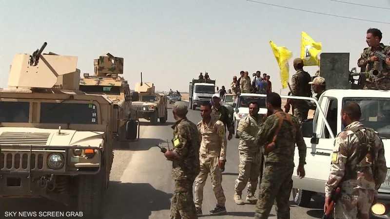 سوريا الديمقراطية تستأنف معاركها البرية ضد داعش بدير الزور
