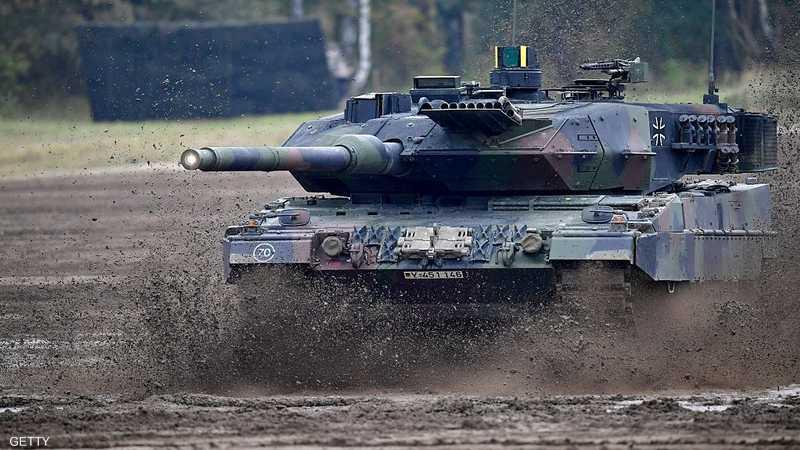 دبابة Leopard 2A7 الألمانية