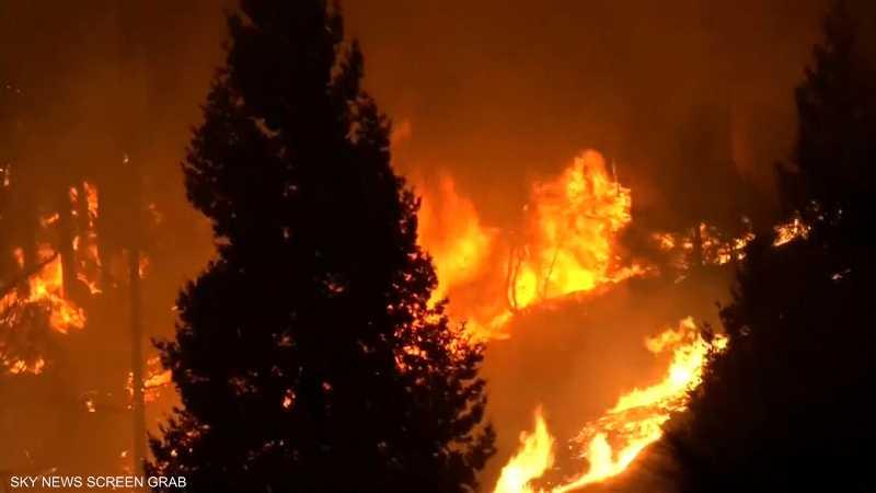 ارتفاع عدد ضحايا حرائق كاليفورنيا إلى 48 قتيلا