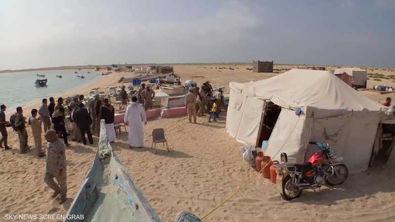 التحالف العربي يقدم مساعدات لتعليم أطفال الفشت وبكلان