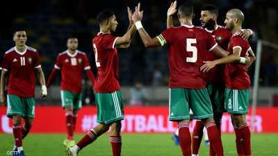 فرحة للمنتخب المغربي بتحقيق الفوز