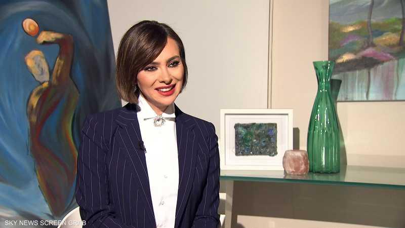 ستيفاني صليبا في لقاء خاص مع سكاي نيوز عربية