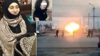 انتحارية الشيشان.. فيديو التفجير وتصدي الشرطة