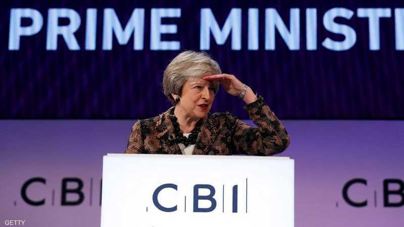 رئيسة الوزراء البريطانية لا تزال تواجه عقبات بشأن البريكست
