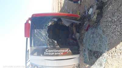 إصابة عشرات السودانيين في حادث سير بمصر