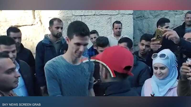 حافظ الأسد في دمشق القديمة