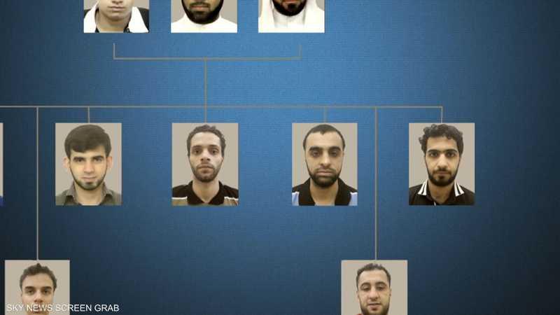 متهمون بجنايات إرهابية
