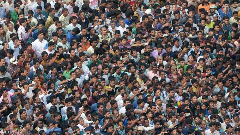 عدد سكان الهند يتجاوز المليار