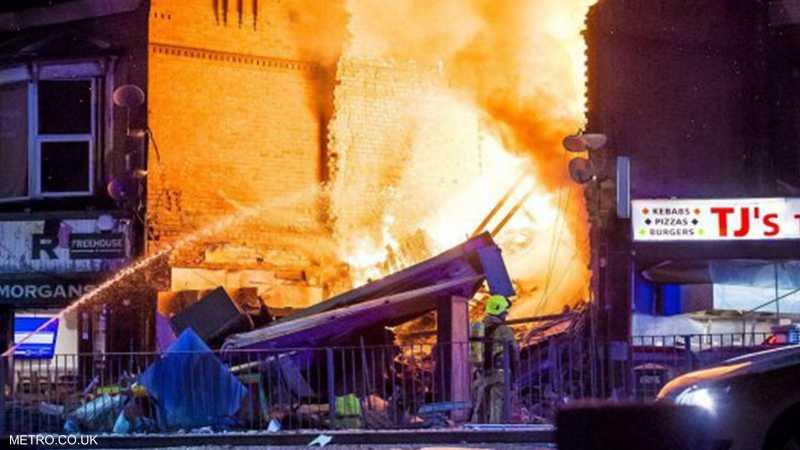 الانفجار كان ضخما
