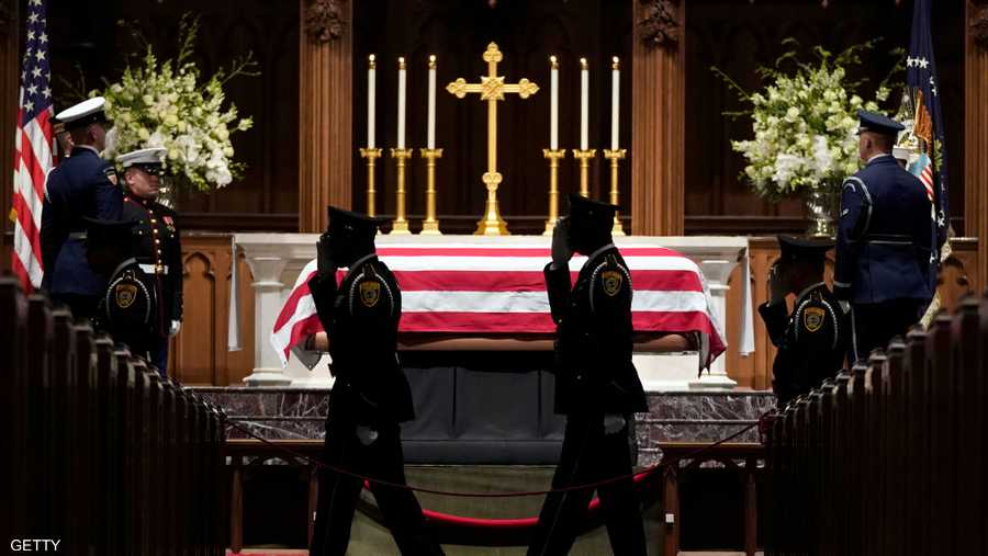 الكاتدرائية الوطنية في العاصمة واشنطن شهدت مراسم التأبين