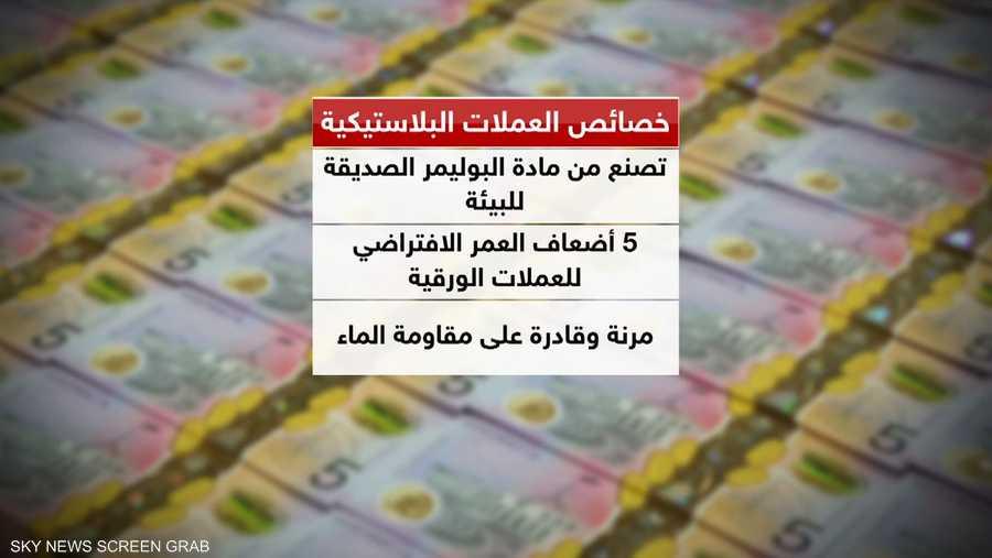 المركزي المصري يخطط لإصدار عملة بلاستيكية في 2020