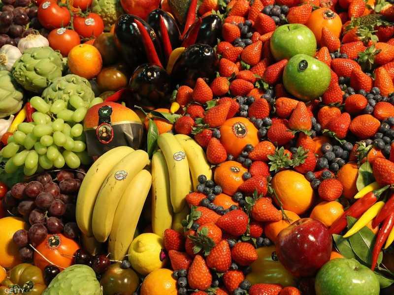الفاكهة والخضراوات غنية بالفيتامينات والعناصر الغذائية