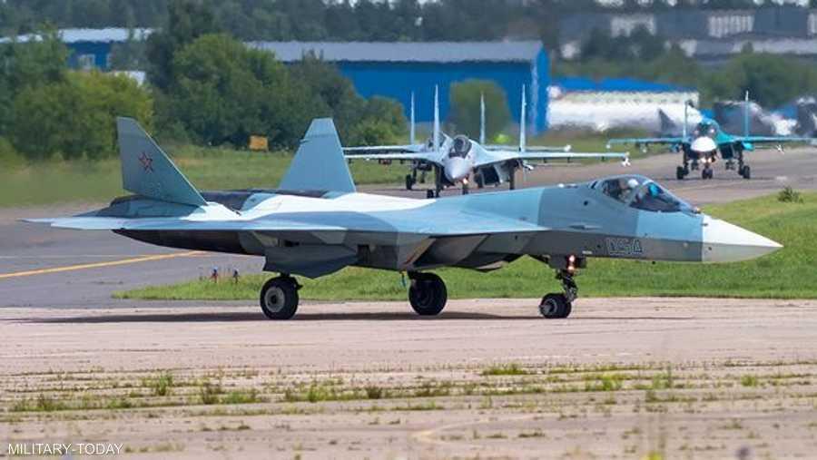 سوخوي سو 57 الروسية