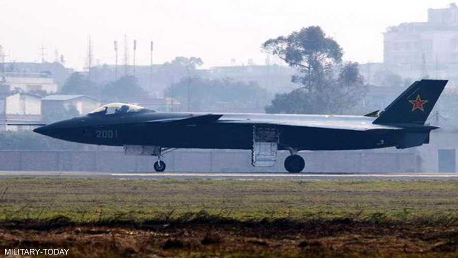 الطائرة الصينية المقاتلة جاي 20