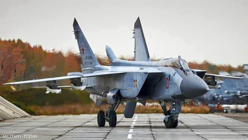 المقاتلة الروسية ميغ 31 بي أم