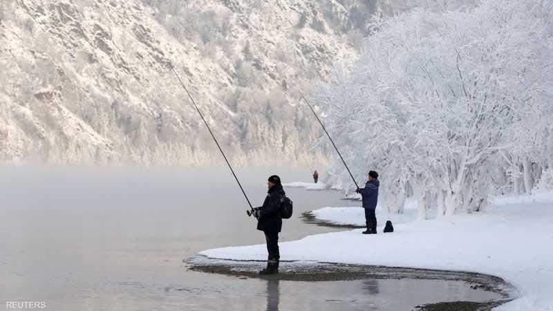 الصيد له طعم خاص في سيبيريا
