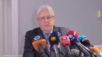 غريفيث يشير لتقدم بمفاوضات مطار صنعاء.. ويتحدث عن جولات أخرى