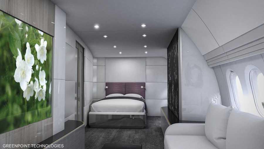 غرفة النوم خلف البهو الكبير من غرينبوينت تيك