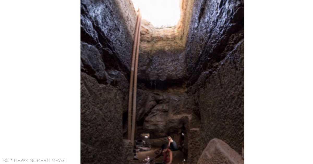 بالصور.. كشف مقبرة فرعونية تضم عشرات الهياكل العظمية في مصر