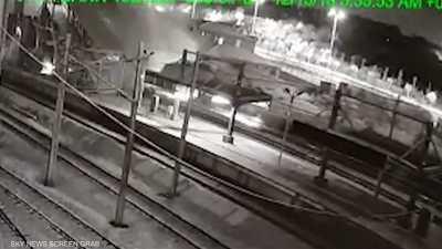 """""""قطار الموت"""" في تركيا.. فيديو للحظة الكارثة"""