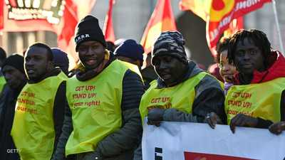 """انتفاضة بـ""""السترات الصفراء"""" من أجل المهاجرين في إيطاليا"""