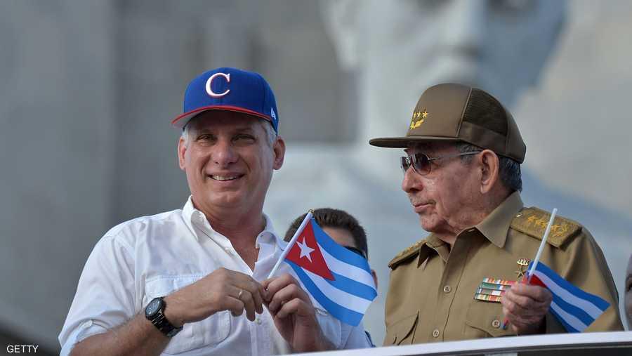 يوم 24 فبراير، تخلى راوول كاسترو عن رئاسة كوبا