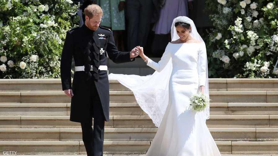 يوم 19 ماي، زواج الأمير هاري بالممثلة الأميركية ميغان ماركل