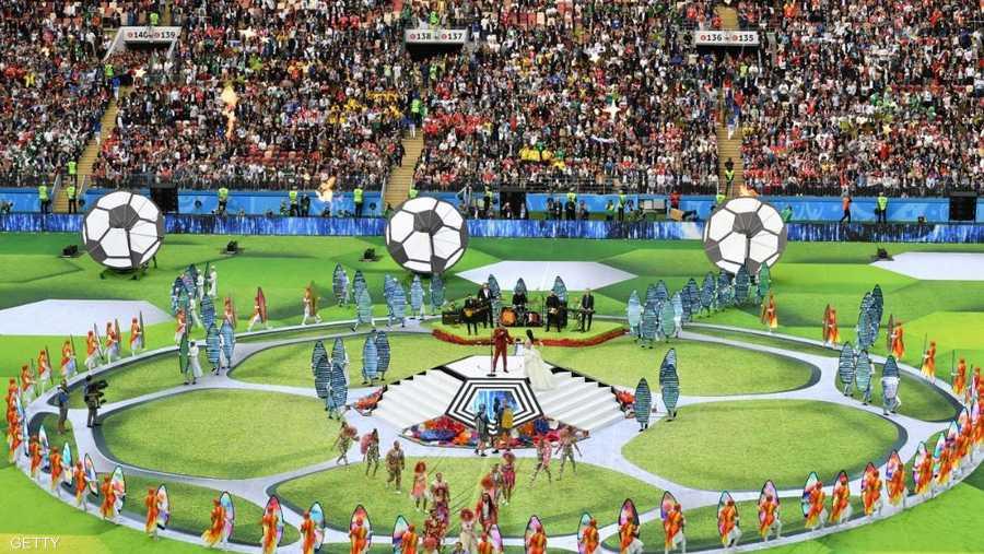 يونيو 2018، افتتاح كأس العالم في روسيا