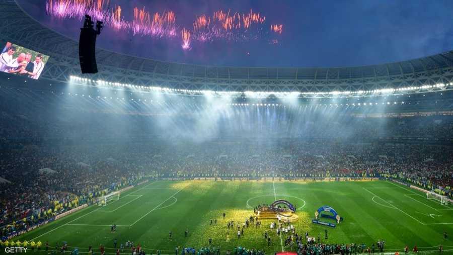 15 يوليو، تتويج منتخب فرنسا بنهائي مونديال روسيا 2018