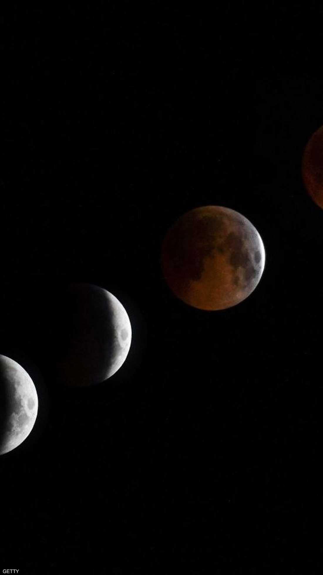 31 يناير، الخسوف الكلي للقمر الأزرق العملاق