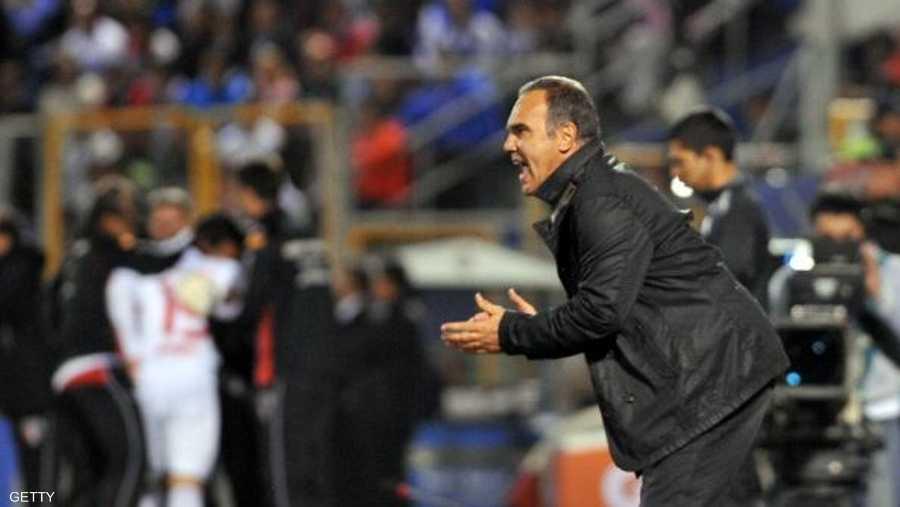 المدرب الأوروغوياني مارتين لازارتي