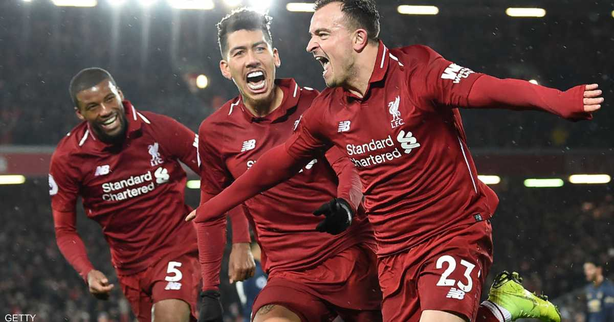 ليفربول يسحق الشياطين الحمر ويستعيد الصدارة
