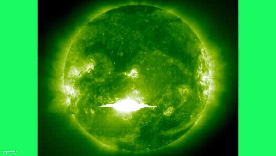 10 أغسطس.. نشرت ناسا صورة غير مسبوقة لانفجارات الشمس المتصلة