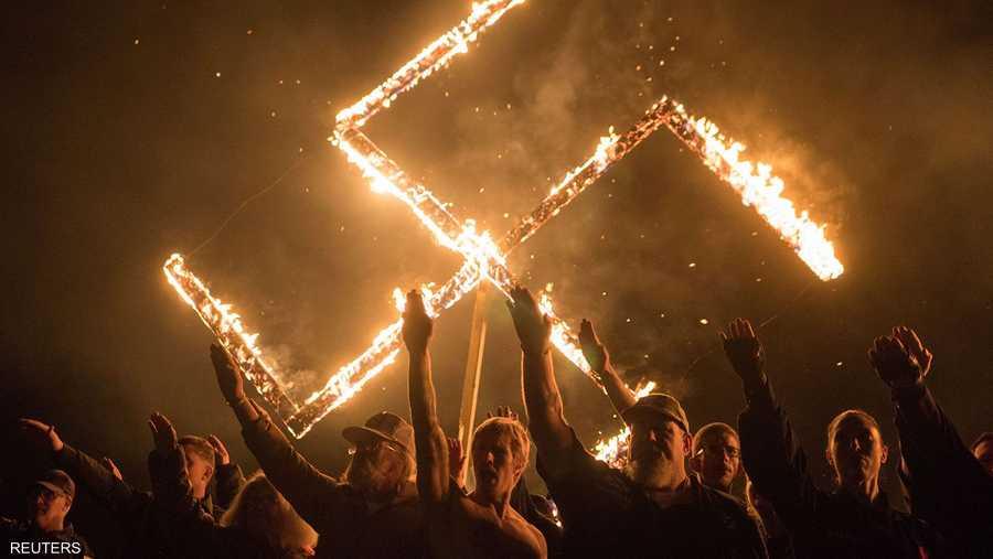 النازيون الجدد يظهرون في جورجيا الأميركية
