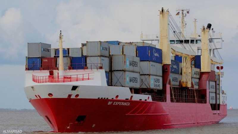 """ضبط """"سفينة الموت"""" التركية شرقي العاصمة الليبية"""